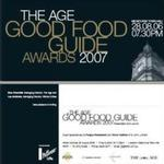 THE AGE GOOD FOOD GUIDE AWARDS 2007